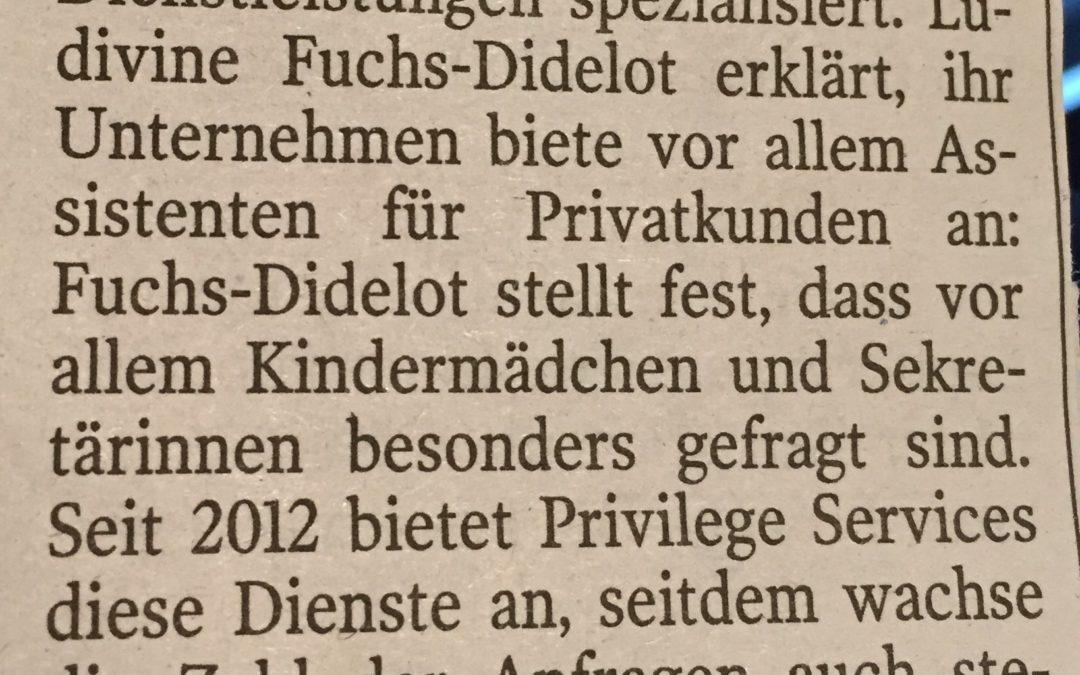 Article de presse – Luxemburger Wort – 18/01/2017